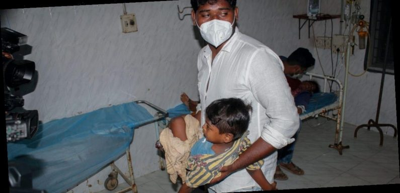 A mysterious disease has killed at least one person and hospitalized hundreds in India, with officials finding traces of lead and nickel in their blood