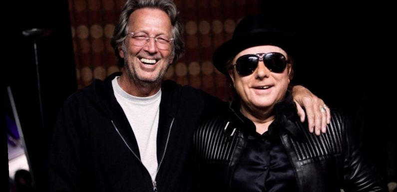 Eric Clapton, Van Morrison release song against coronavirus lockdowns: 'Stand and Deliver'