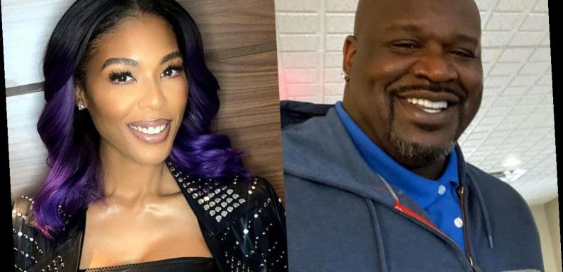 Shaquille O'Neal Tells Ex-Girlfriend Moniece Slaughter to Kill Herself in Angry Text Exchange