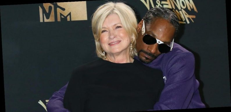 Martha Stewart says Snoop Dogg teaches her a lot about 'his whole world' and that it's 'just ridiculous' she hasn't met Eminem yet