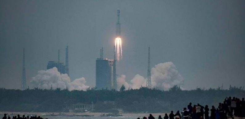 China's new Long March 8 rocket makes maiden flight