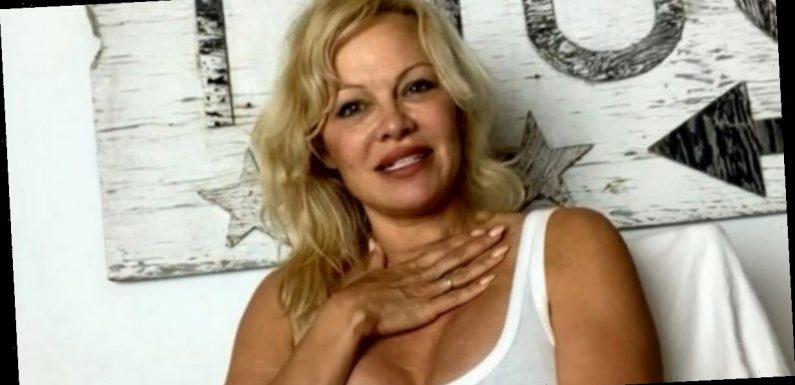 Pamela Anderson distracts GMB fans with ageless beauty amid Piers sex offer