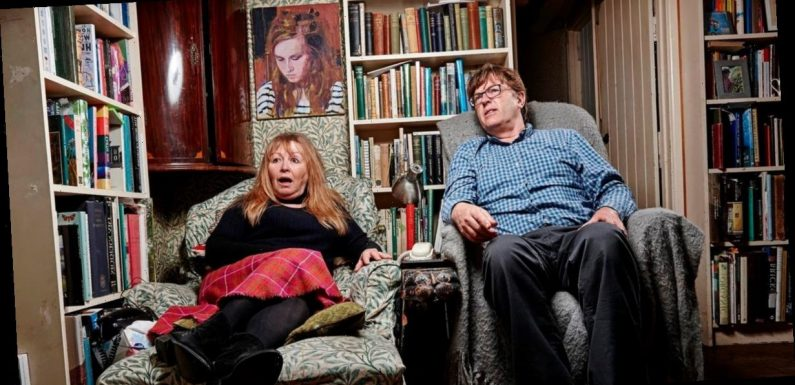 Gogglebox's Mary and Giles horrified as Real Full Monty on ice men 'wiggle manhood'