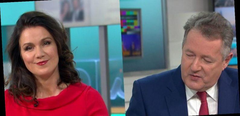 GMB Susanna Reid insists she's 'here too' amid Piers Morgan's MP takedown praise