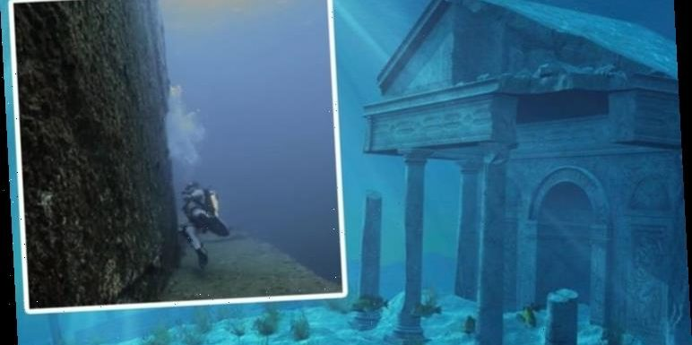 Atlantis found? Diver made 'extraordinary' discovery of huge 'man-made' structure