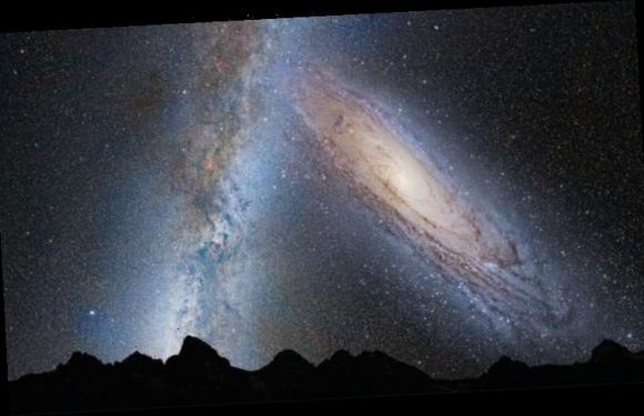 Milky Way is rushing towards a collision with Andromeda that will give Earth a 'new home'