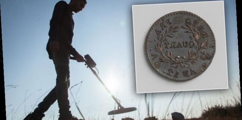 Ancient coin discovered in Scotland could rewrite history of Napoleon war
