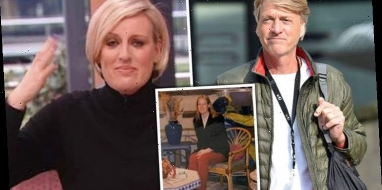 Steph McGovern reacts to pic 'impersonating' Richard Madeley as he replaces Channel 4 host