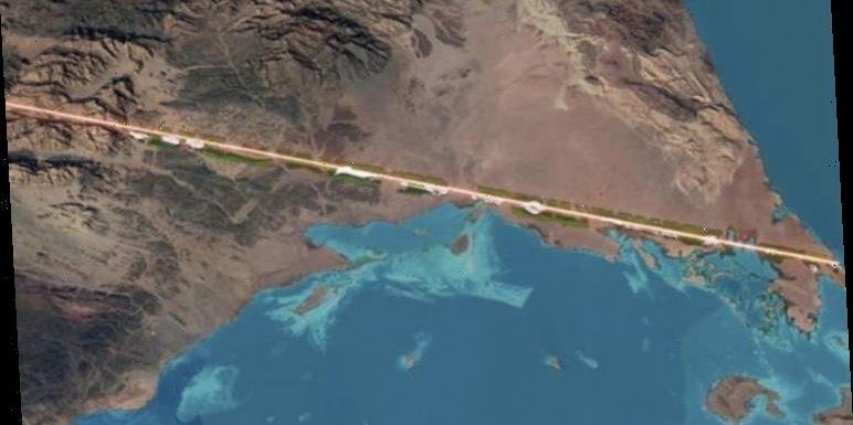 Saudi Arabia unveils plans for 'zero-carbon' city built in 100 MILE straight line