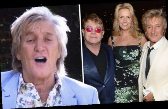 Rod Stewart gives update on 'worst row' with 'fierce enemy' Elton John: 'Went on forever'