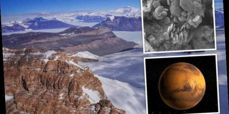 Antarctica bombshell: Mars mineral found trapped in polar ice can link Earth to Red Planet