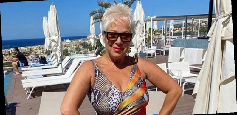 Loose Women's Denise Welch strips to lingerie to show off two stone weight loss
