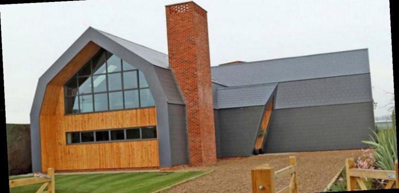 Grand Designs viewers slam £600k barn conversion for 'looking like crematorium'