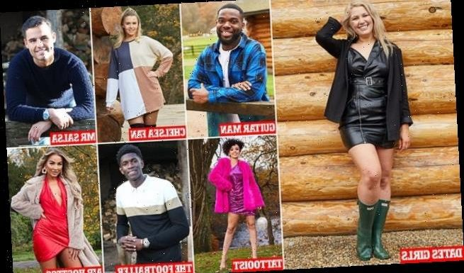 The Cabins: Meet the ten sexy singletons