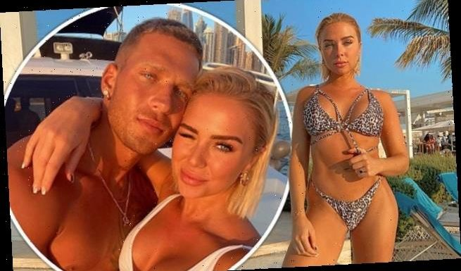 Gabby Allen explains why she and beau Brandon Myers jetted to Dubai