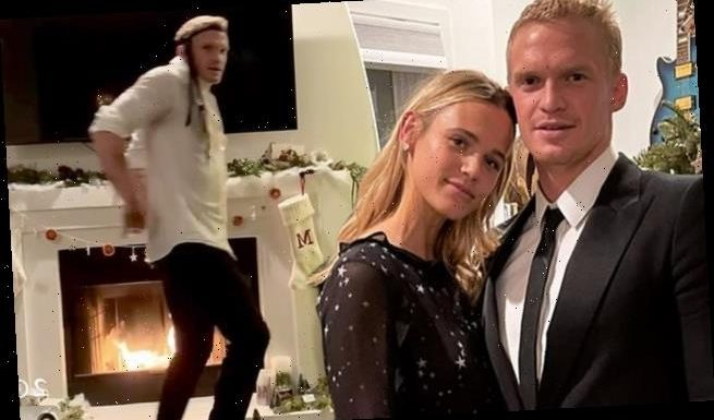 Cody Simpson poses with model girlfriend Marloes Stevens in NYE photos