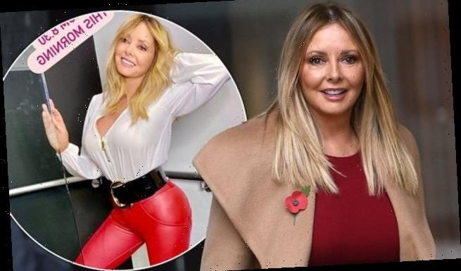 Carol Vorderman says thought of relationship makes her feel 'sick'