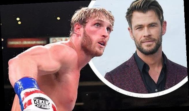Logan Paul expresses his desire to fight Chris Hemsworth: