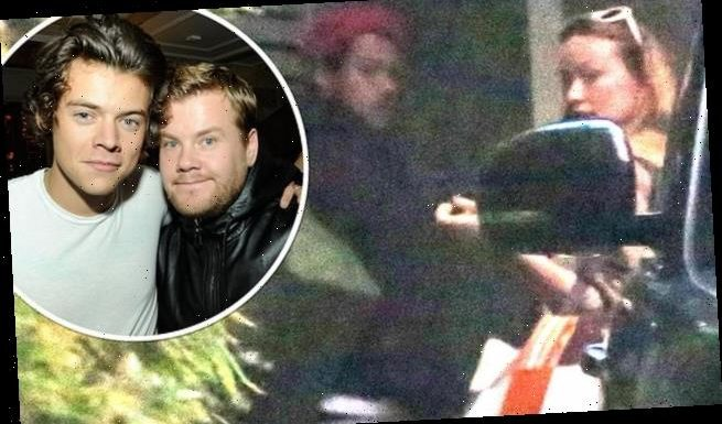James Corden 'helped keep Harry Styles & Olivia Wilde romance secret'