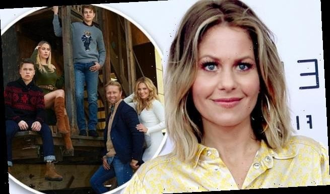 Candace Cameron claps back at 'haters' after posting family photo