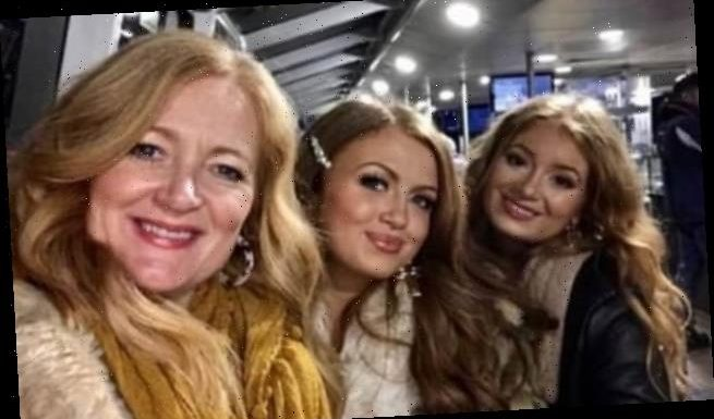 Strictly's Maisie Smith poses with mum and sister for 'triplets' snap