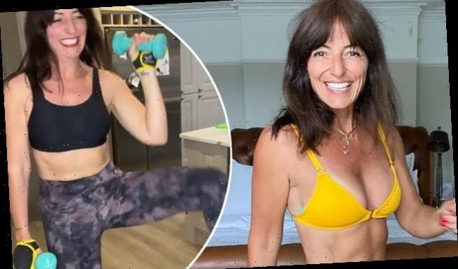 Davina McCall says she used to stay fit to 'look hot in a bikini'