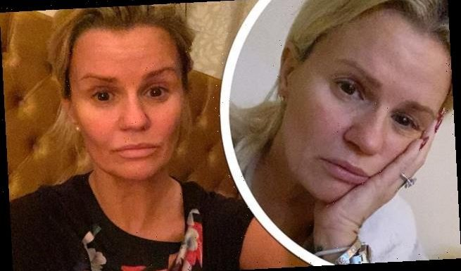 Kerry Katona says she STILL has Covid 3 weeks after testing positive