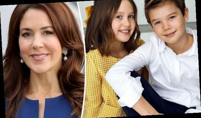Princess Mary's twins Vincent and Josephine turn 10