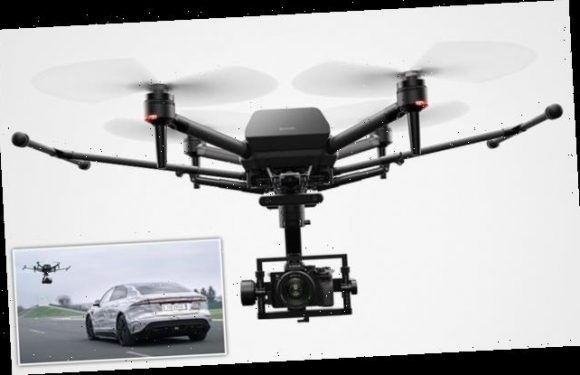 Sony offers glimpse of Airpeak drone that can carry an Alpha camera
