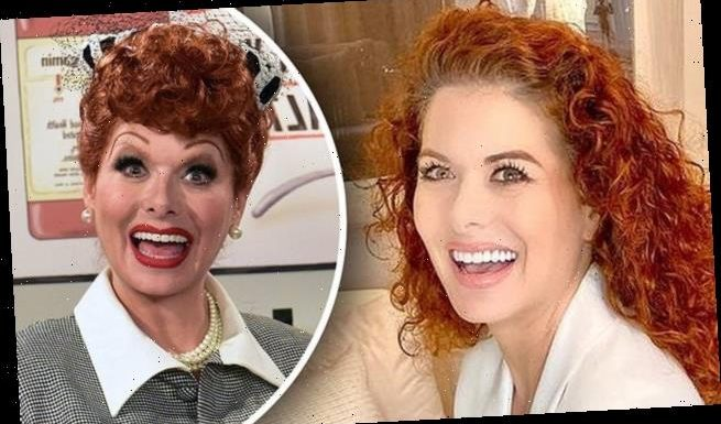 Debra Messing declares she is 'available' for Lucille Ball biopic