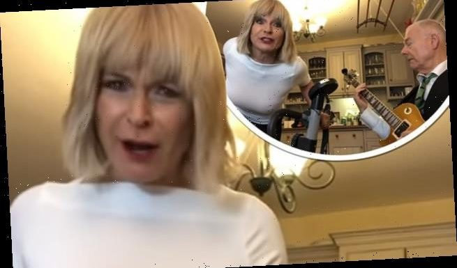 Toyah Willcox delivers bizarre performance on exercise bike from home