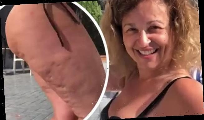 Nadia Sawalha, 56, is praised by fans as she promotes body confidence