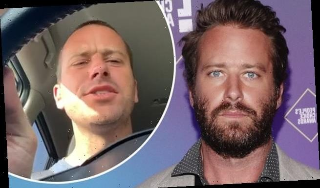 Armie Hammer's Instagram uncovers his love for unusual hashtags