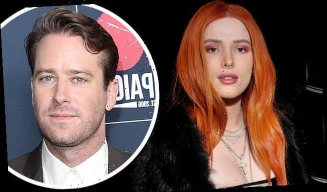 Bella Thorne DEFENDS Armie Hammer against 'cannibal' allegations