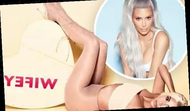 Kim Kardashian gets in the 'wifey' spirit amid Kanye West 'divorce'