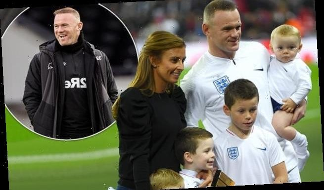 Coleen Rooney pays tribute to husband Wayne after retirement