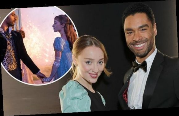 Phoebe Dynevor and Regé-Jean Page check in on each other 'a lot'