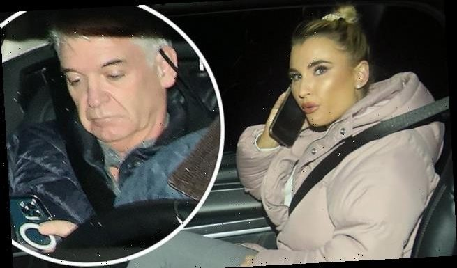 Dancing on ice cast without masks in taxis
