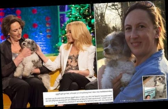 Miranda Hart is taking a career break after the death of her dog Peggy