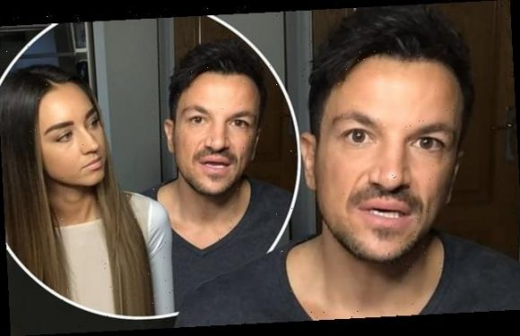 Peter Andre reflects on his battle with COVID-19