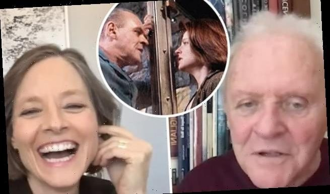 Anthony Hopkins and Jodie Foster reunite 30 years after Lambs