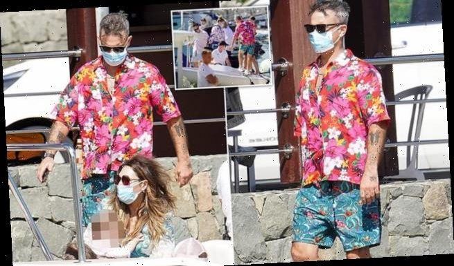 Robbie Williams 'isolating in St.Barts after contracting coronavirus'