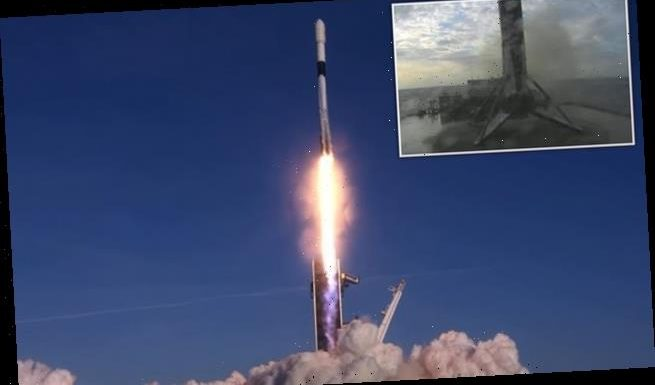 SpaceX successfully launches 60 Starlink satellites into space