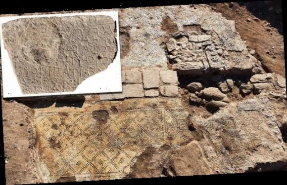 Ancient Greek inscription of 'Christ, born of Mary' found  in Israel