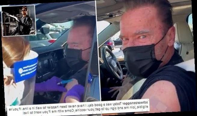 Arnold Schwarzenegger receives COVID-19 vaccine