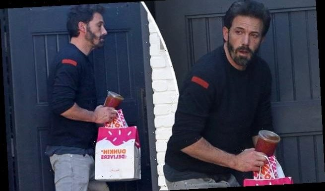 Ben Affleck treats himself to Dunkin' Donuts as he copes with split