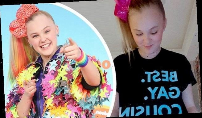 JoJo Siwa appears to come out