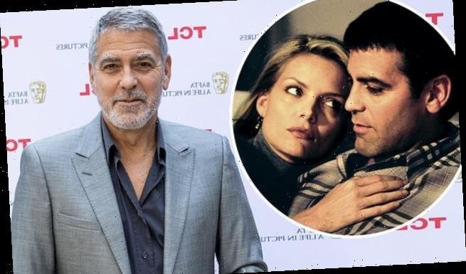 George Clooney recalls coming to set drunk while filming One Fine Day
