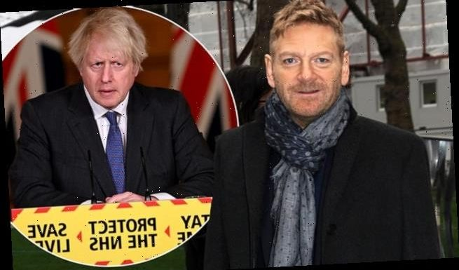 Kenneth Branagh to play BORIS JOHNSON in drama about COVID-19 pandemic