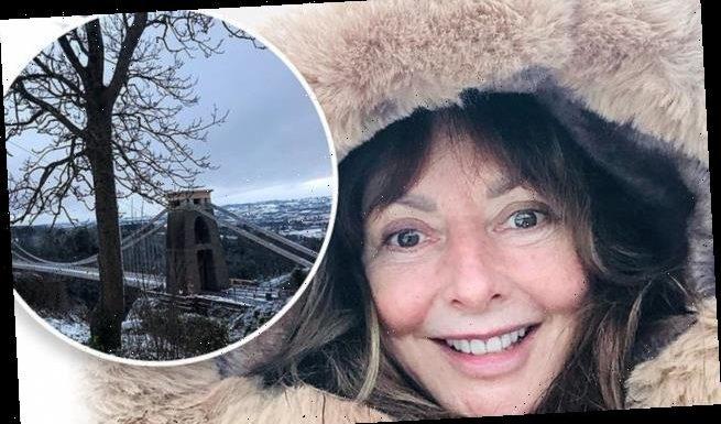 Carol Vorderman, 60, looks radiant as she goes makeup-free in Bristol